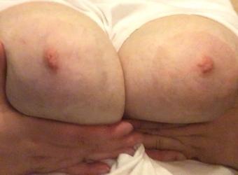 Exposed fat BBW slut with floppy tits, 1