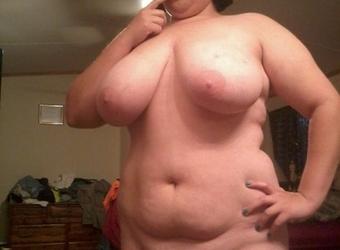 BBW Nudist Hates Clothes 01