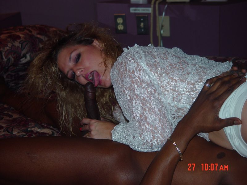 Blowjob wife interracial amateur