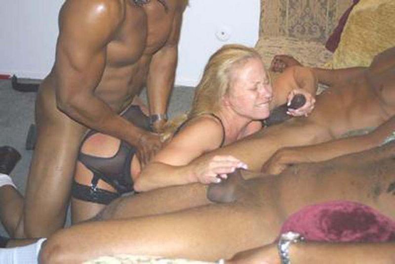 Nude interracial catfights