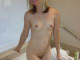 Slim blonde gf