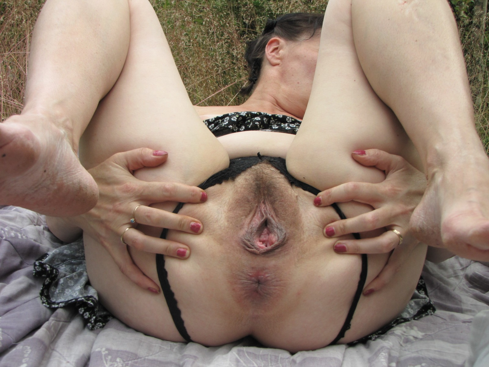 Wife bondage play