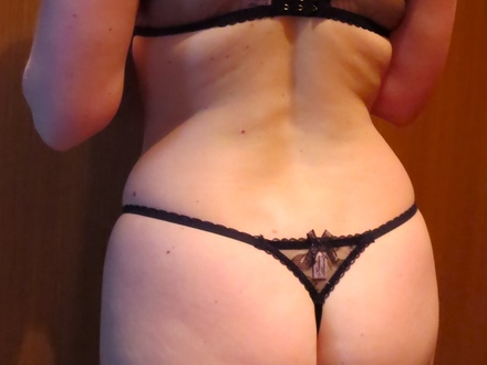 Wife in dessous