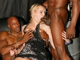 Amateur interracial cuckold action