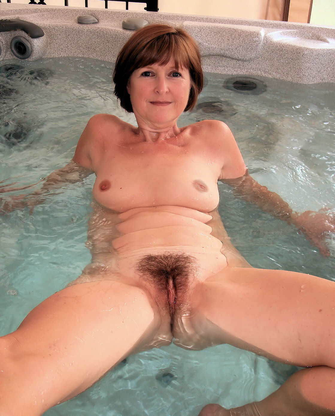 Wife In Hot Tub At Homemoviestubecom-8587