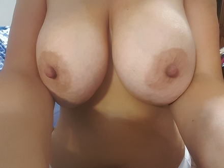 My friend's huge tits